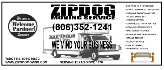 zip dog moving services