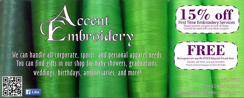 Accent Embroidery 6-15
