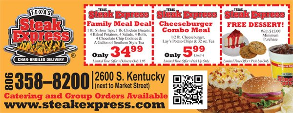 texas steak express wp