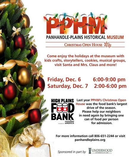 Panhandle-Plains Historical Museum Christmas Open House