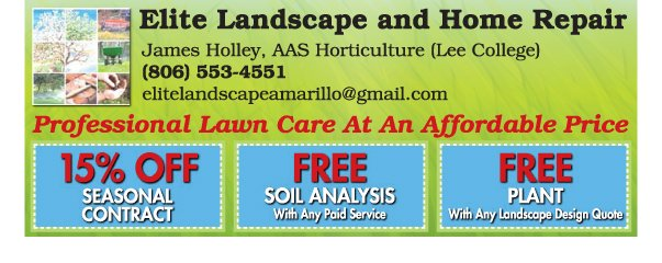 Elite Landscape and Home Repair