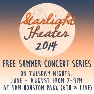 Starlight Theater Free Summer Concert Series @ Sam Houston Park | Amarillo | Texas | United States