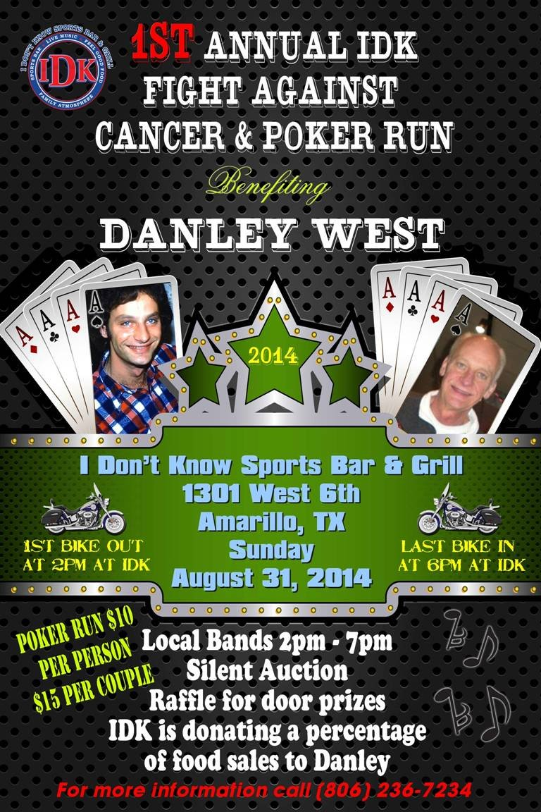 1st Annual IDK Fight Against Cancer & Poker Run