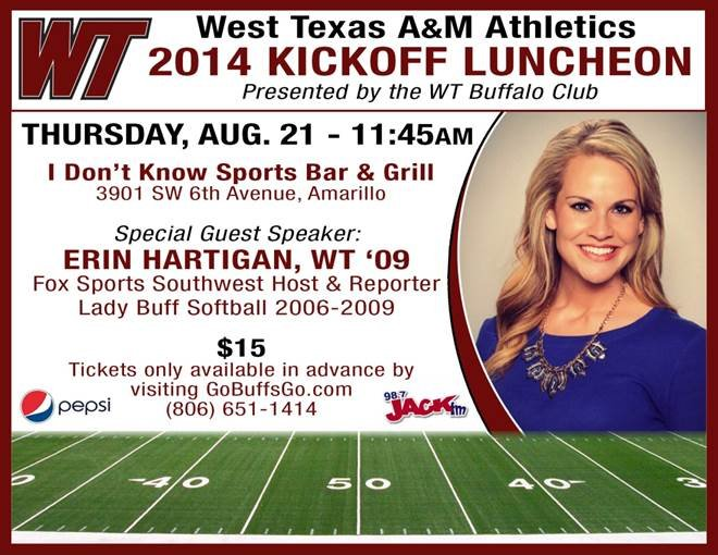 WT Athletics Kickoff Luncheon