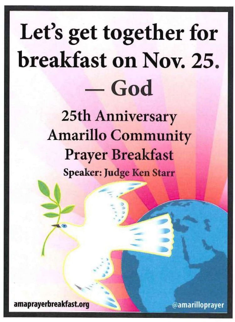 Amarillo Community Prayer Breakfast - 25th Anniversary