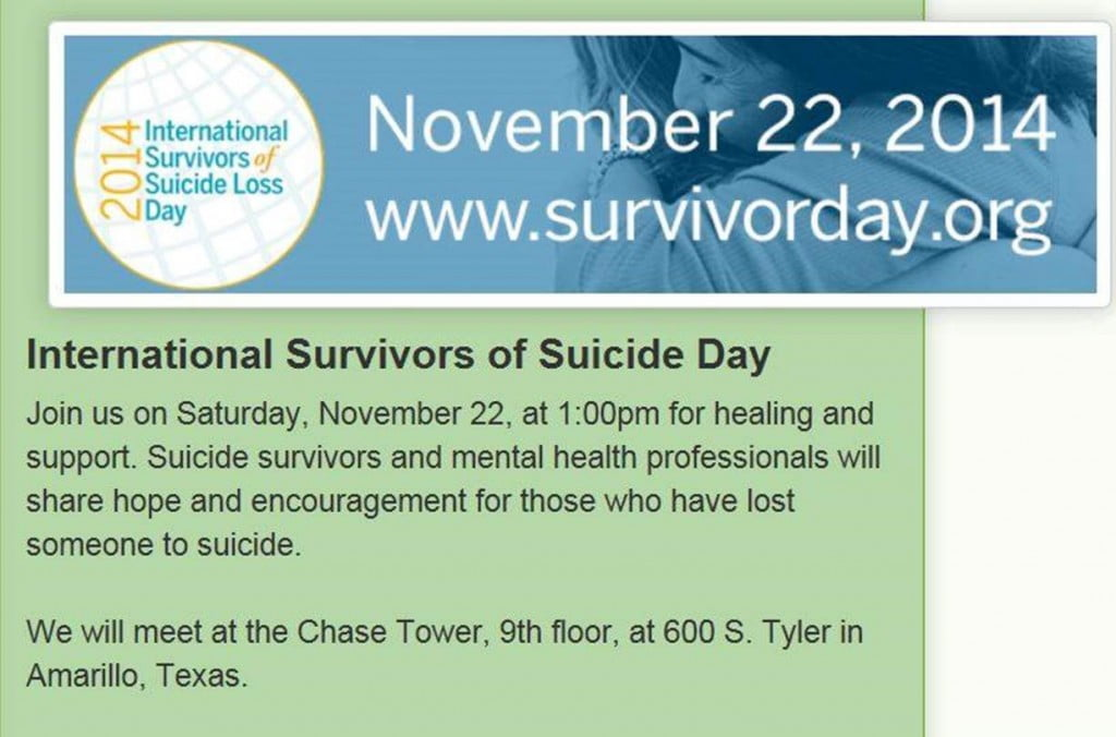 International Survivors of Suicide Day