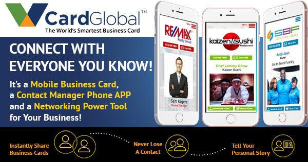 Virtual business card welcome pardner amarillo tx dj never be without your business card again vcard global is the worlds smartest business card helping individuals small businesses corporations colourmoves