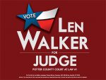 Len Walker for Judge