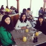 Me with my cousin and sister at the highest restaurant in London .jpeg