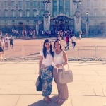 Brittany visiting Hani in England and Buckingham Palace.jpg