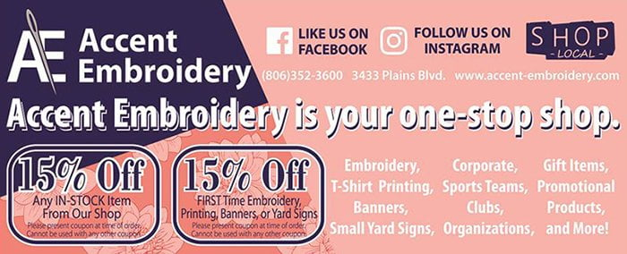 Accent Embroidery & Garment Printing