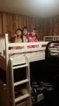 Surpise bunk beds!