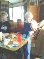 DJ & Aunt RubyJo celebrating her 90 + 2 Birthday July 2014-2.jpeg