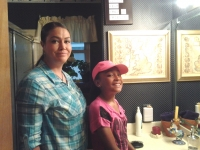Patricia & Shida (Mother & Daughter) June 2014.jpg
